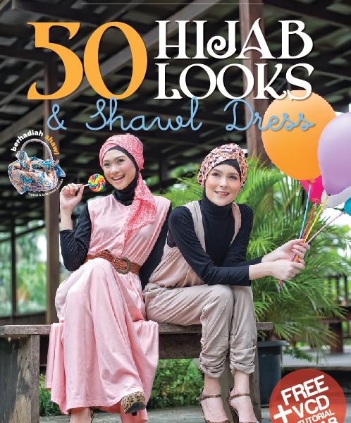 50 HIJAB LOOKS & SHAWL DRESS