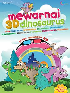 MEWARNAI 3D DINOSAURUS