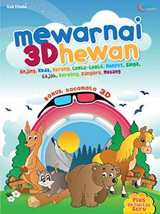 MEWARNAI 3D HEWAN
