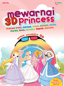 MEWARNAI 3D PRINCESS