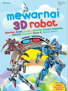 MEWARNAI 3D ROBOT