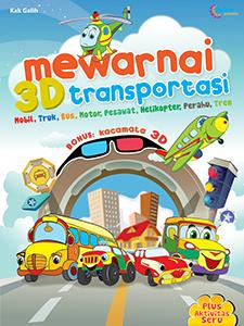 MEWARNAI 3D TRANSPORTASI