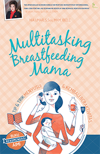 MULTITASKING BREASTFEEDING MAMA
