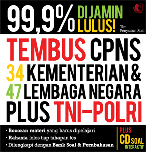 TEMBUS CPNS 34 KEMENTERIAN & 47 LEMBAGA NEGARA PLUS TNI-POLRI