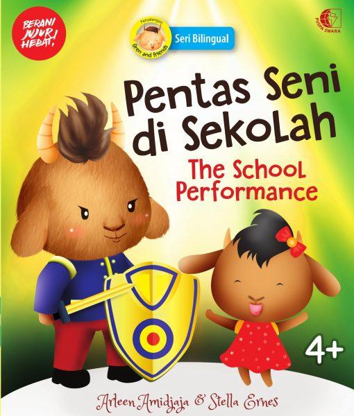 Pentas Seni di Sekolah Cover 1Depan